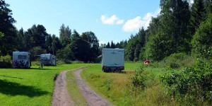 Campingplatz auf den Ålandinseln