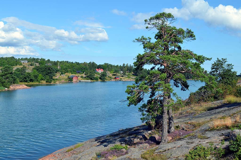 Wanderweg auf Åland