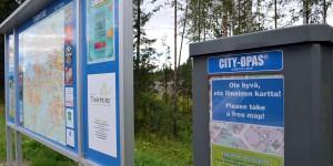 Kostenloser Stadtplan in Tampere