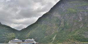 AidaMar im Geirangerfjord