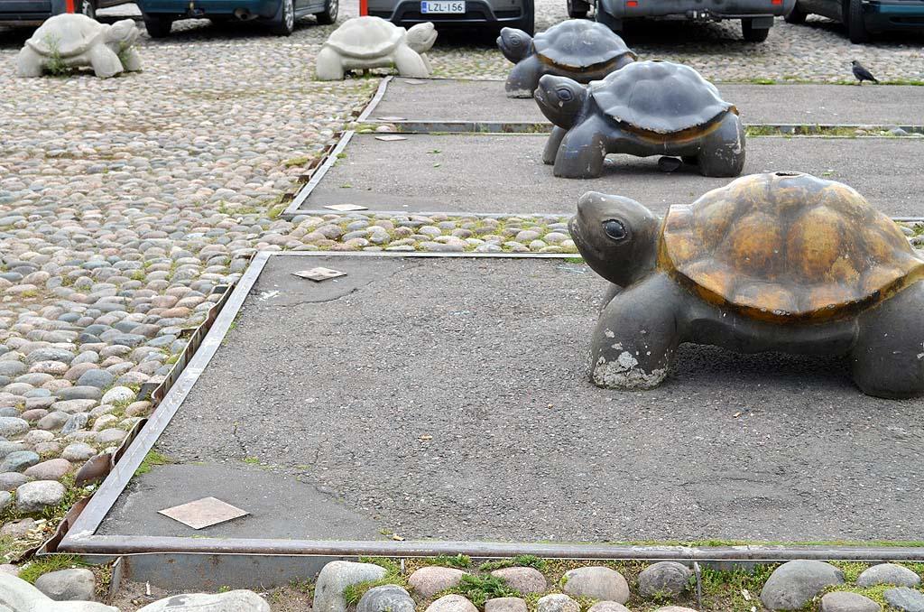 Schildkrötenskulptur