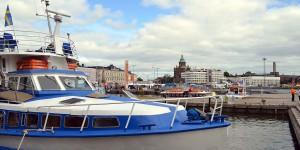 Am Hafen von Helsinki
