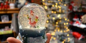 Weihnachtsmannkugel