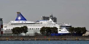 Kreuzfahrtschiff auf der Ostsee