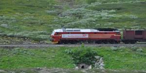 Nordlandbahn am Polarkreis