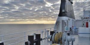 Mit dem Schiff in Norwegen unterwegs
