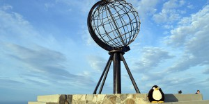 Pingu am Nordkapp