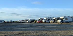 Parkplatz am Nordkap