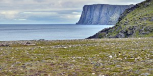 Nordkap aus der Ferne