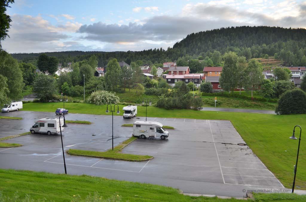 Übernachtung in Norwegen