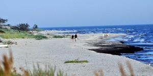 Strand in Skåne