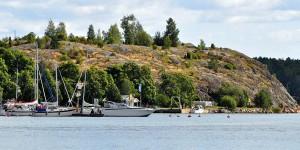 Küste in Finnland