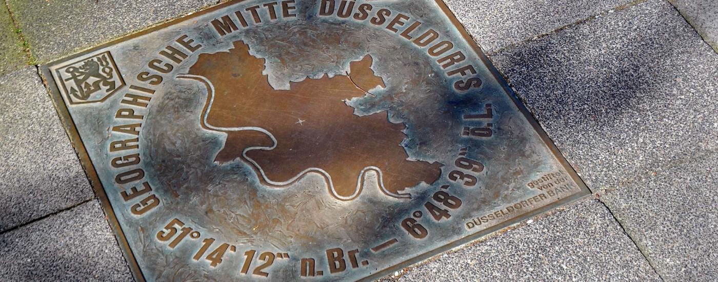 Mittelpunkt von Düsseldorf