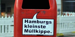 Hamburgs kleinste Müllkippe