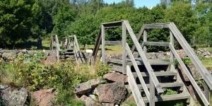 Brücke zum Wandern