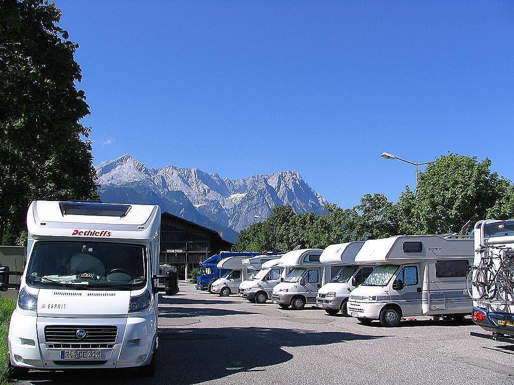 Wohnmobilstellplatz in Bayern