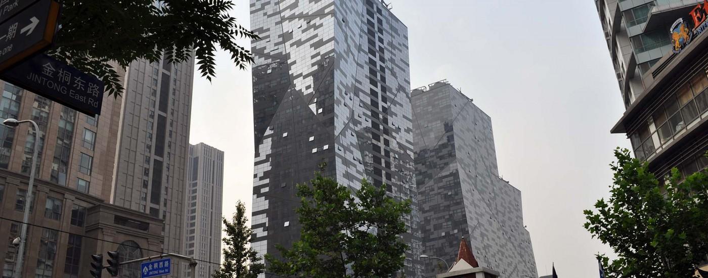 Hochhäuser in New Beijing