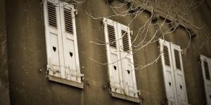 Alte Fensterläden