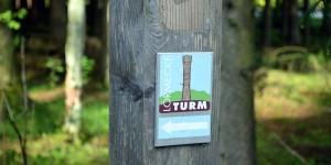 Weg zum Lörmecke-Turm