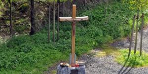 Kreuz am Turm