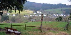 Wandern oberhalb des Valme-Tals