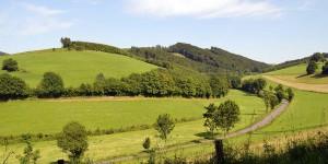 Landschaft bei Kirchrarbach