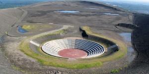 Amphitheater auf der Halde Haniel