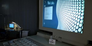 Riesiger Computer