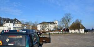 Mit dem VW-Bus an der Ostsee