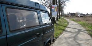 Unterwegs mit dem VW-Bus