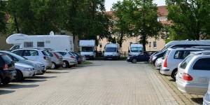 Stellplatz und Parkplatz gleichzeitig