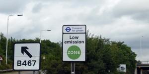 Hinweis auf die Umweltzone