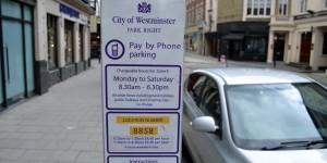 Hinweis aufs Parken