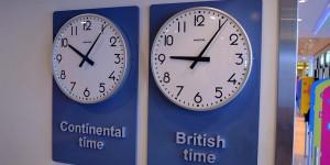 Zwei Zeitzonen