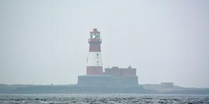 Leuchtturm auf Farne Islands