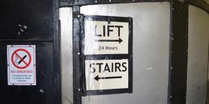 Fahrstuhl zum Greenwich Tunnel