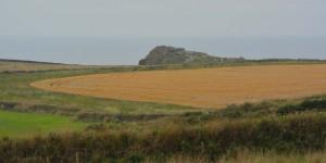 Landschaft im Süden von England