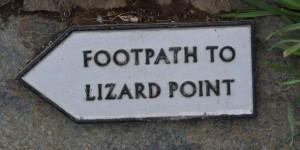 Fußweg zum südlichsten Punkt von England