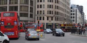Londons Straßenverkehr