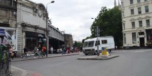 Wohnmobil in London