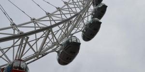 Riesenrad an der Themse