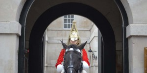 Wache vor dem Horse Guard