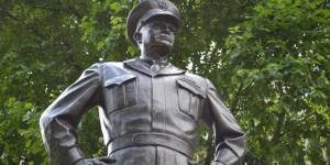 Eisenhower-Statue in London
