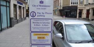 Parkgebühren in London