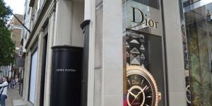 Dior auf der Bond Street