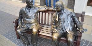 Roosevelt und Churchill