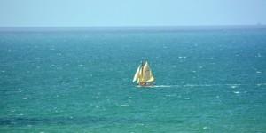 Segelschiff auf dem Ärmelkanal
