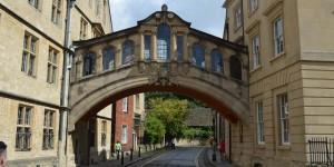 Bridge of Sighs in Oxford