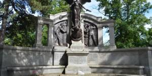 Denkmal für die Maschinisten der Titanic in Southampton