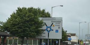 Kreisverkehr in Swindon